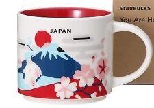 Starbucks coffee JP You Are Here Collection 414ml Mug Cup Mt Fuji Sakura Japan