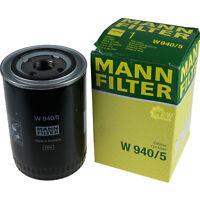 Original MANN-FILTER Ölfilter Arbeitshydraulik für Hydraulische Anlage W 940/5