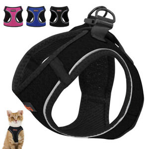 Step-in Cat Walking Harness Escape Proof Pet Reflective Puppy Mesh Vest Harness