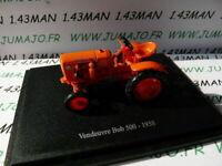 TR61W Tracteur 1/43 universal Hobbies n° 97 VENDEUVRE Bob 500 1958