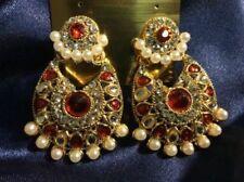 Pearl Stone Fashion Earrings