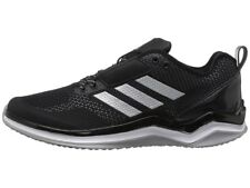 Nuovo Adidas Speed Sportivo 3.0 Nero/Argento/Bianco UOMO Scarpe da Baseball