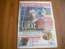 MELODY MAKER - MARCH 14th 1992 - CURVE, THE CURE, CHIC, BLUR, POWER OF DREAMS