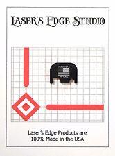 Rear End Cover Back Slide Plate for most models of GLOCK US Flag Amer. Infidel