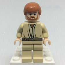 LEGO Star Wars sw0162 Obi-Wan Kenobi Minifigure w Headset from 7661
