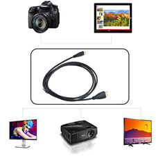 PwrON 1080P Mini HDMI Type A/V TV Video Cable for Polaroid S8 Internet Tablet