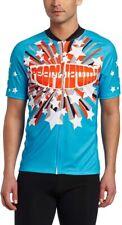 Pearl Izumi Men's MTB LTD Mountain Bike Jersey - Love Electric Blue