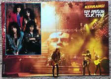 KISS - 1990 UK Magazine centrefold poster