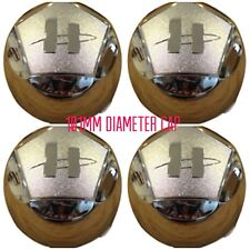 Helo Maxx 6 chrome center caps set of 4 Max cap chevy ford dodge 789K101 HE791