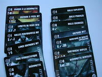 CARTES TIREUR D'ELITE  EN FRANCAIS /OPERATIONS EN EUROPE CYCLE /FIRETEAM ZERO/#L