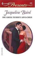 The Greek Tycoon's Love-Child, Baird, Jacqueline, 0373124228, Book, Acceptable