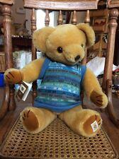 "16"" Nisbet Bully Bear Tribute Jointed Mohair Teddy Plush #5130"