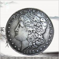 USA United States Metal Morgan Dollar $1 1888 Silver Coin Collection Souvenir US