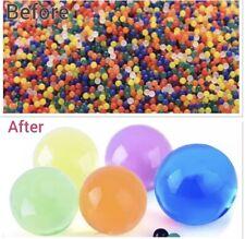 5000 Orbeez Water Beads Crystal Table Decor Aqua Gel ball Vase Filler Soil Bio