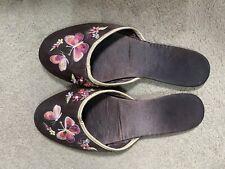 Satin Slippers UK Size 5
