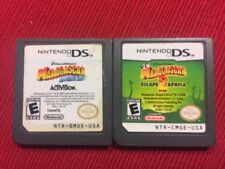 Lot of 2 Madagascar Games Children (Nintendo DS) - Tested and Guaranteed