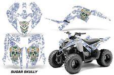 Yamaha Raptor 90 AMR Racing Graphic Kit Wrap Quad Decals ATV 2009-2015 SGR SKULL