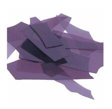 Deep Purple Bullseye Confetti Transparent Fusing Glass 90COE Fused Kiln 10g