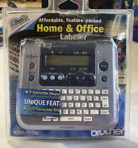 Brother P-Touch Model PT-1280 Label Printer Discontinued Tested Working
