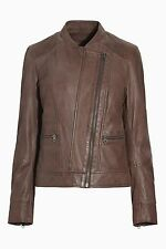 Zip Leather Casual Coats & Jackets NEXT for Women