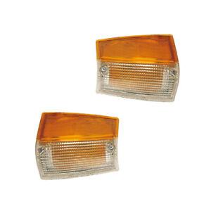 Side Marker Lights Reflectors Pair Set for 86-93 Mazda Pickup Left & Right