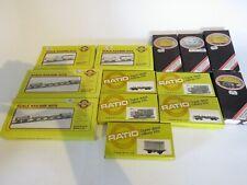 Ratio OO Gauge Large Selection Of Wagon Kits x13