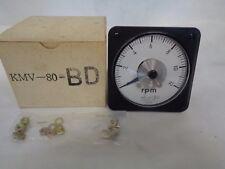 NEW TAKAGI KMV-80-BD RPM-TACHOMETER CLASS 2.5