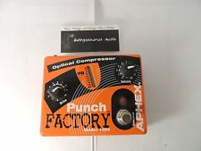 APHEX 1404 PUNCH FACTORY OPTICAL COMPRESSOR EFFECTS PEDAL DI FREE SHIPPING!