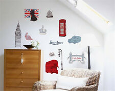 London England Home Decor Removable Wall Sticker Decal Decoration Vinyl Mural