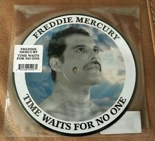 """Freddie Mercury """"Time Waits For No One"""" 7"""" Picture Disc Queen Germany New Rare"""