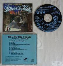 RARE CD ALBUM BLUES DE VILLE J.D. FRESSOZ & GARY KARP 11 TITRES 1998 MADE IN EU