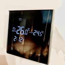 24V 3A Premium Digital Raumthermostat 70-WP Glass Touchscreen