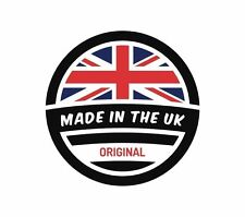 UK Made in the UK England GB Sticker Decal Graphic Vinyl Label V1