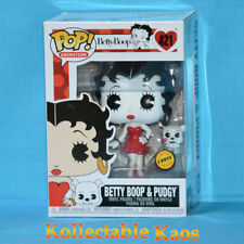 Betty Boop - Betty Boop with Pudgy Pop! Vinyl Figure #421 - Chase + Protector