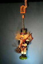 KATHE Wohlfahrt Christmas Ornament Wooden Mini Nutcracker Germany NEW