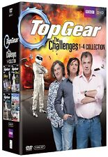 Top Gear - The Challenges 1+2+3+4 1-4 Collection 6er [DVD] Jeremy Clarkson