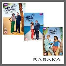 Death in Paradise Series season 1, 2 & 3 DVD R4/Aus New & Sealed BBC
