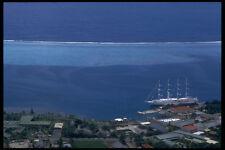 567071 Coral Reef From Mount Belvedere Raiatea French Polynesia A4 Photo Print