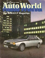 Renault Autoworld Magazine No 91 Spring 1984 UK Brochure 11 TXE Trafic Caravans
