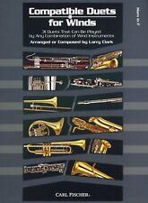 Larry Clark Compatible Dúos Para Vientos Cuerno En F Play corno francés de música, Libro