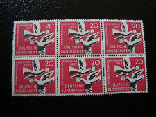 ALLEMAGNE (rfa) - timbre - yvert et tellier n° 148 x6 n** (A6) stamp germany(E)