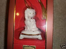 Lenox Razzle Dazzle Cat Ornament Nib