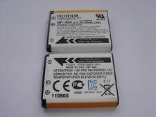 Batterie D'ORIGINE FUJI Olympus CASIO NP-45A NP-45 NP-45B NP-80 GENUINE Battery