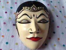 Javanese Mask Topeng Sintha Made In Indonesia