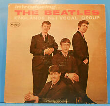 INTRODUCING... THE BEATLES LP 1964 MONO ORIGINAL PRESS NICE CONDITION! G+/VG