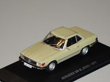 Mercedes 350 SL(R107) 1971 senfgelb 1:43 Solido 143634 neu & OVP