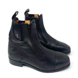 Tredstep Womens Medici Short Boot Size 37 Black Double Zip Paddock Ireland