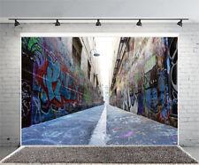 7x5Ft Photography Backdrops Graffiti Wall Vinyl Props Photo Background Studio