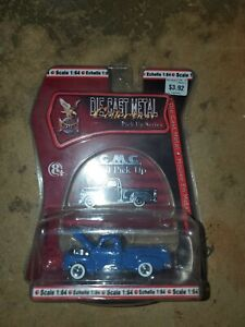 Road Signature Die Cast Metal Collection Pick Up Series 1:64 Scale GMC 1950 Pick