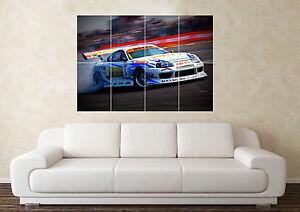 Large Toyota Supra Twin Turbo JDM DET Drift RB Wall Poster Art Picture Print